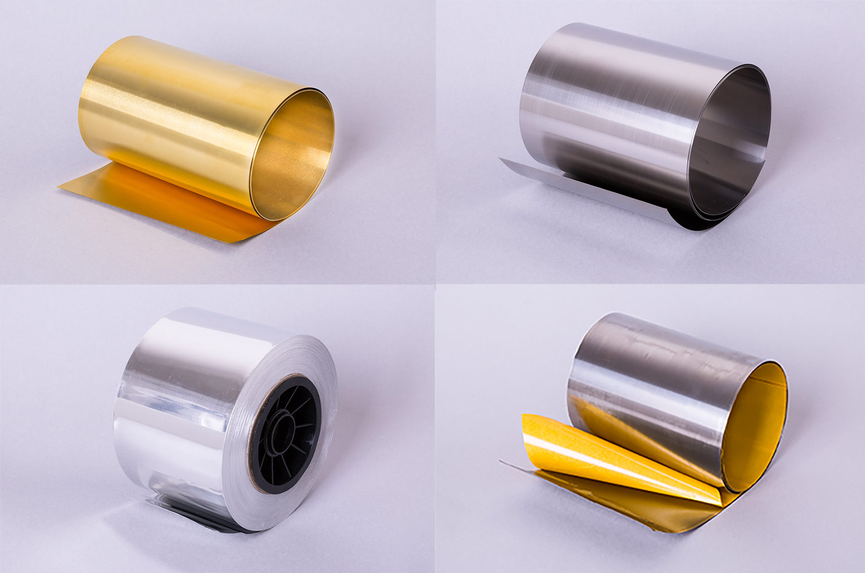 Metal foil and thin sheet metal